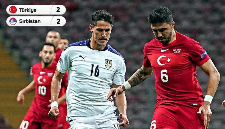 Geri döndük! Türkiye 2-2 Sırbistan maç özeti ve golleri izle