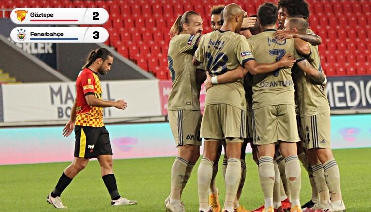 Göztepe 2-3 Fenerbahçe maç özeti ve golleri (İZLE)