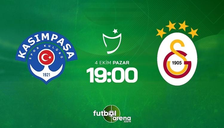 Kasımpaşa-Galatasaray canlı izle, Kasımpaşa-Galatasaray şifresiz İZLE (Kasımpaşa-Galatasaray beIN Sports canlı ve şifresiz İZLE)