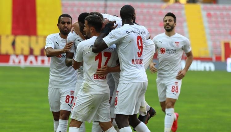 Kayserispor 1-3 Sivasspor maç özeti ve golleri izle