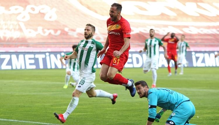 Konyaspor 1-1 Yeni Malatyaspor maç özeti ve golleri izle