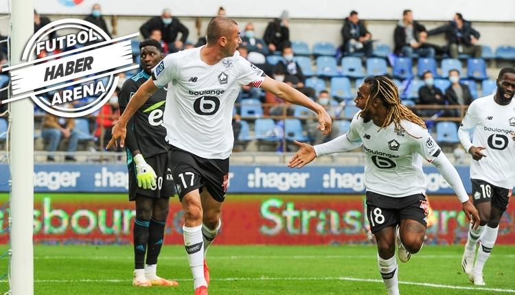 Lille, Burak Yılmaz ve Zeki Çelik'in golleriyle kazandı (İZLE)