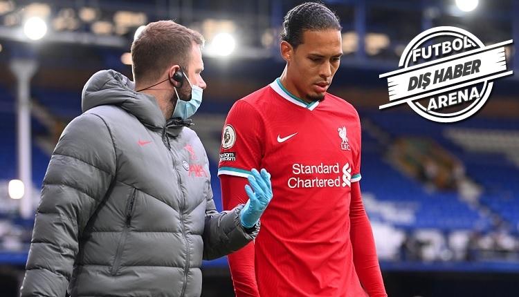 Liverpool'da Van Dijk şoku! Ameliyat olacak