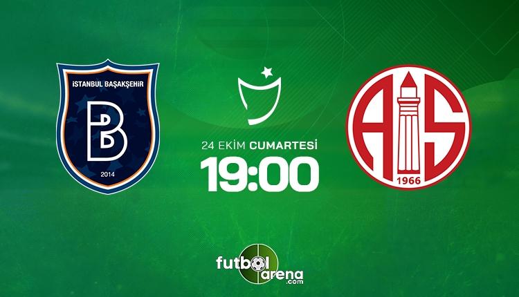 Medipol Başakşehir Antalyaspor canlı izle - Başakşehir Antalya şifresiz İZLE (Bein Sports 2 canlı yayın)