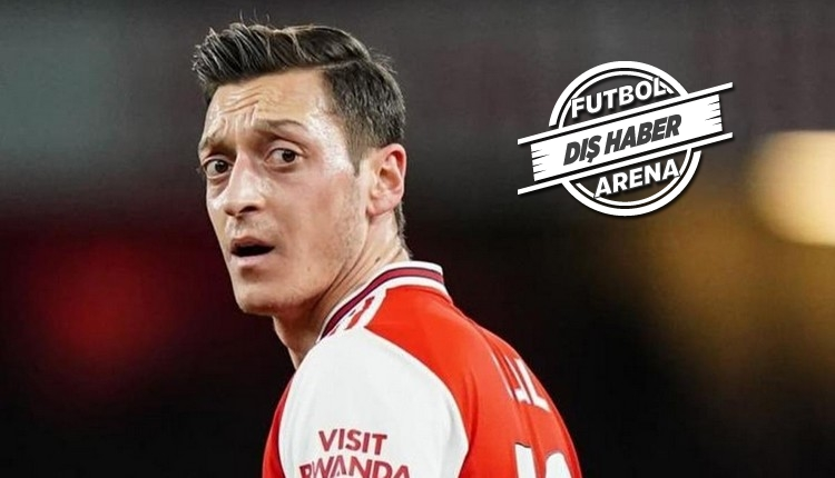 Mesut Özil'den Arsenal tepkisi!
