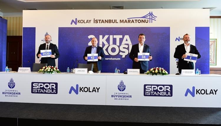 N Kolay 42. İstanbul Maratonu basın toplantısı gerçekleştirildi