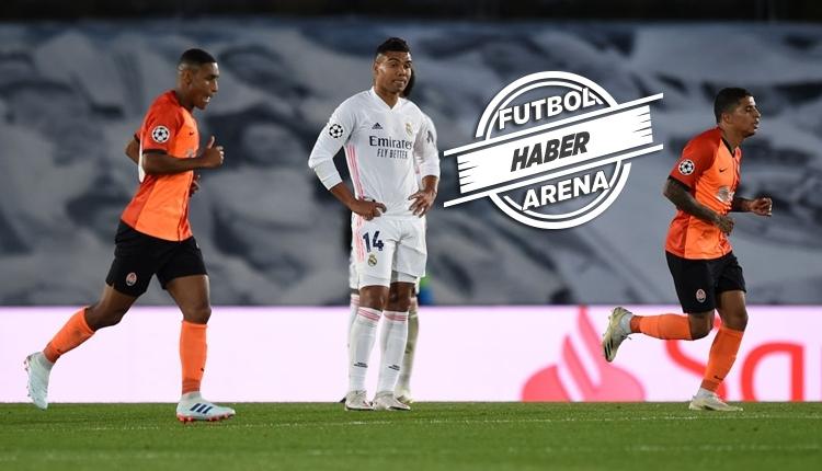 Real Madrid 2-3 Shakhtar Donetsk maç özeti ve golleri izle