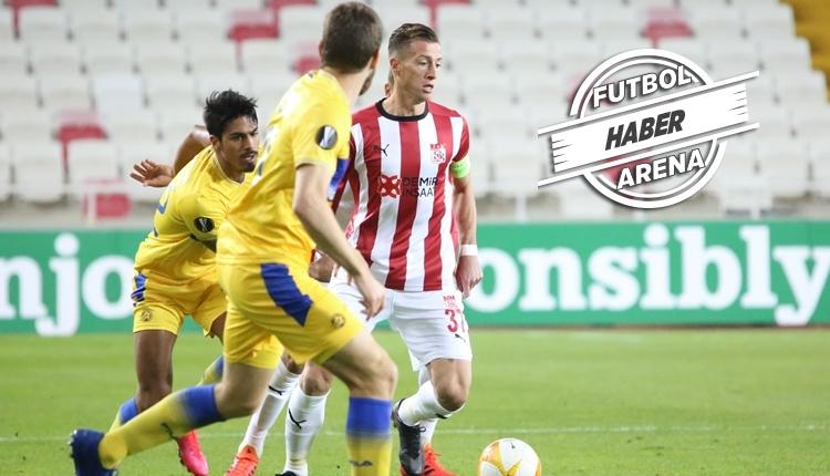 Sivasspor 1-2 Maccabi Tel Aviv maç özeti ve golleri izle