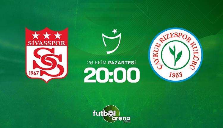 Sivasspor Çaykur Rizespor canlı izle - Sivas Rize şifresiz İZLE (Bein Sports 2 canlı yayın)