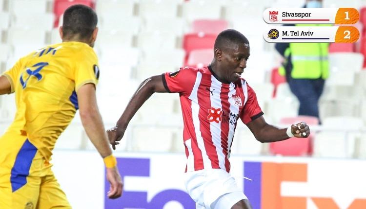 Sivasspor, Maccabi Tel Aviv'e kaybetti! 2'de 0 yaptık (İZLE)