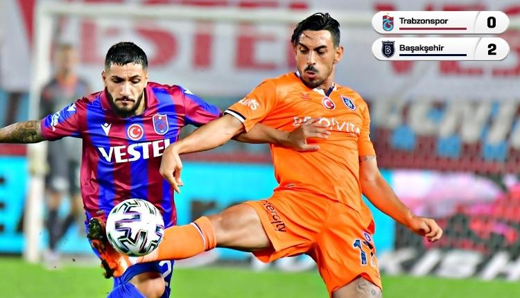 Trabzonspor 0-2 Başakşehir maç özeti ve golleri (İZLE)