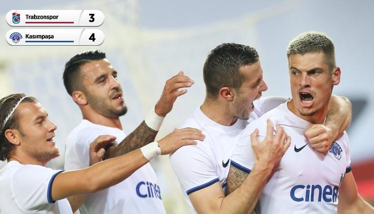 Trabzonspor 3-4 Kasımpaşa maç özeti ve golleri (İZLE)