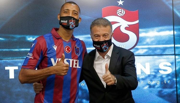 Trabzonspor'da Vitor Hugo ve Semedo için imza töreni