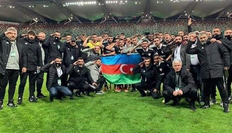 UEFA'dan Karabağ'a asker selamı cezası