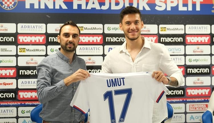 Umut Nayir transferi açıklandı! Hajduk Split için ilk sözler