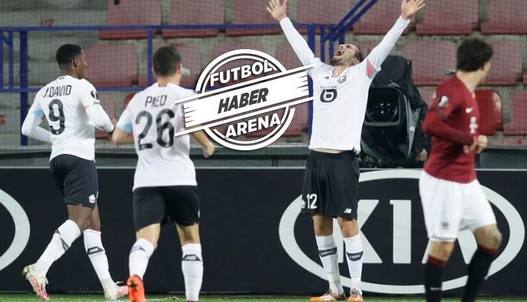 Yusuf Yazıcı'dan Sparta Prag maçında hat trick!