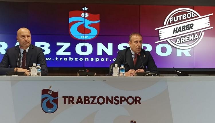 Abdullah Avcı'dan iddialı sözler! 'Burası Trabzonspor'