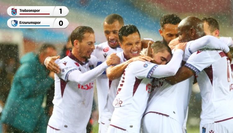Avcı ilk maçını kazandı! (Trabzonspor 1-0 Erzurumspor maç özeti)