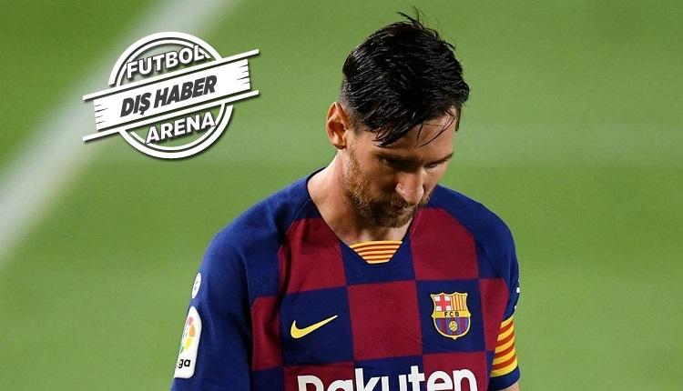 Barcelona personeli: 'Messi'nin kalmasına üzüldük'