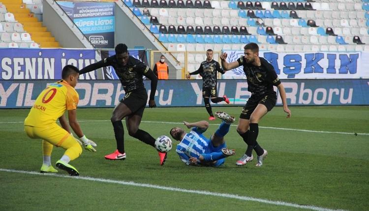 BB Erzurumspor 1-1 Göztepe maç özeti ve golleri izle