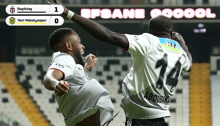 Beşiktaş 1-0 Yeni Malatyaspor maç özeti ve golü (İZLE)