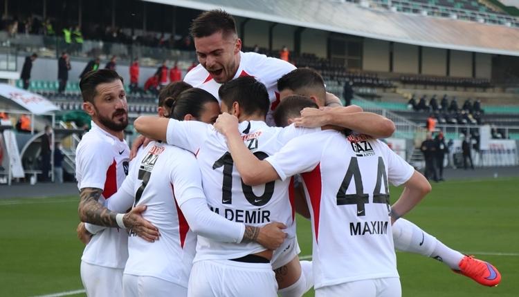 Denizlispor 0-1 Gaziantep FK maç özeti ve golü izle