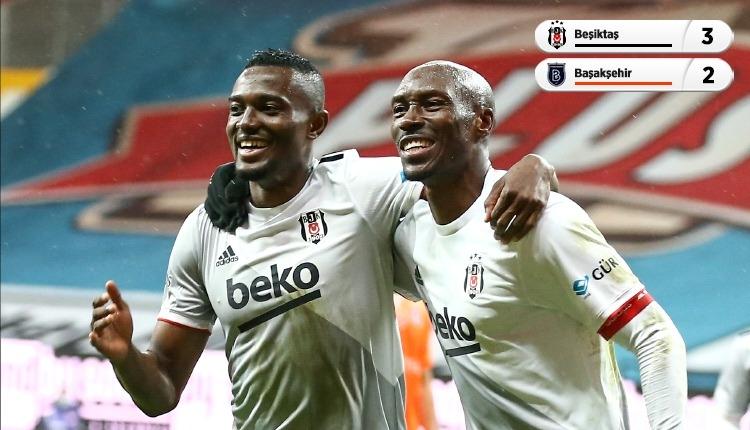 Eksik Beşiktaş, son şampiyon Başakşehir'i devirdi (İZLE)