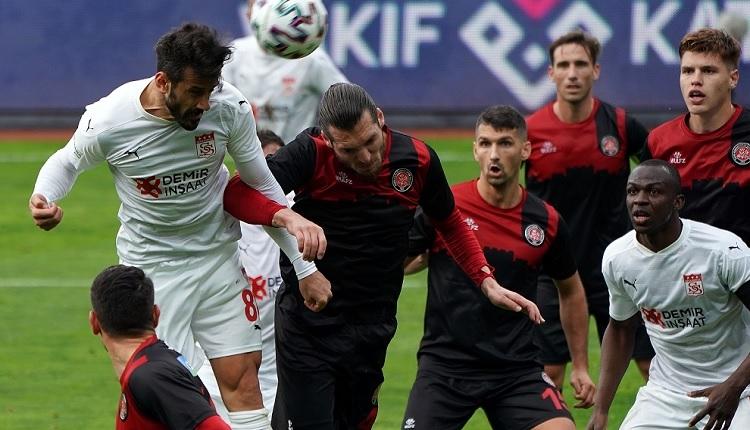 Fatih Karagümrük 1-1 Sivasspor maç özeti ve golleri İZLE