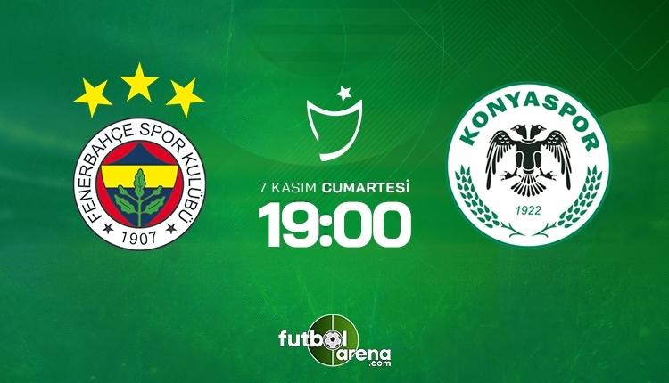 Fenerbahçe-Konyaspor canlı izle, Fenerbahçe-Konyaspor şifresiz İZLE (Fenerbahçe-Konyaspor beIN Sports canlı ve şifresiz İZLE)