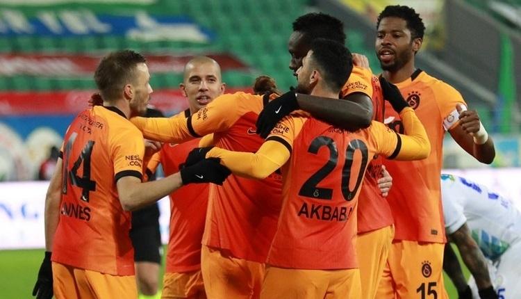 Galatasaray deplasmanda kazanıyor!