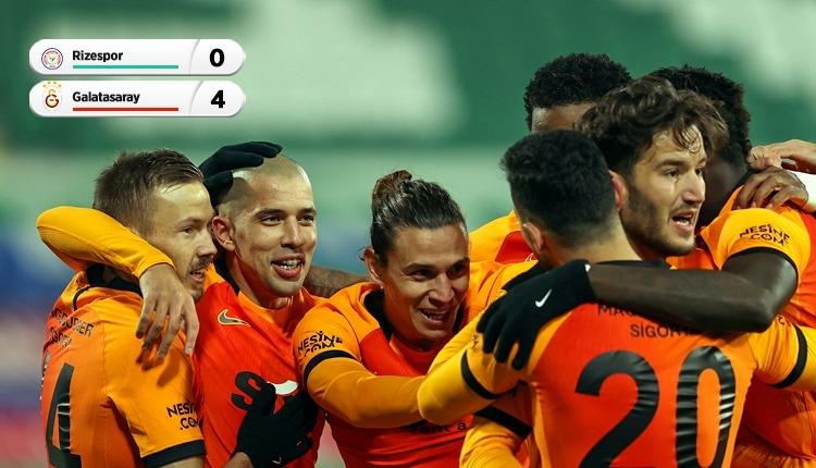 Galatasaray, Rize'de Diagne ile kazandı (İZLE)