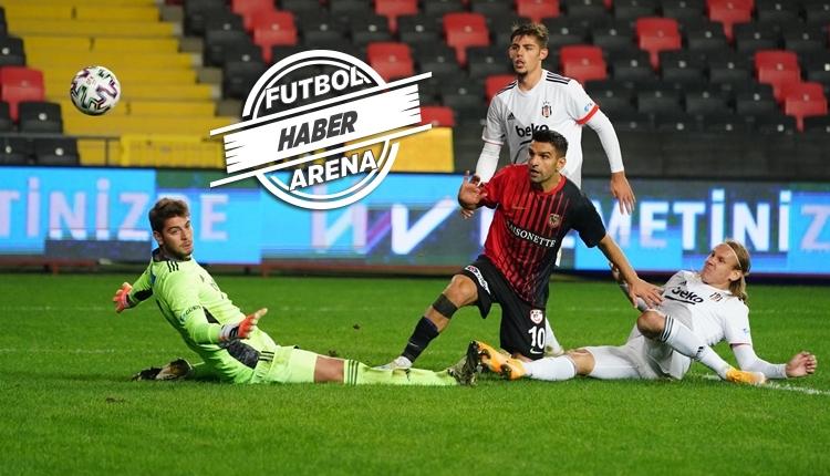 Gaziantep FK 3-1 Beşiktaş maç özeti ve golleri izle