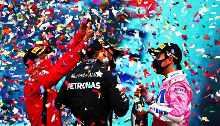 İstanbul'da şampiyon Hamilton! Rekoru egale etti