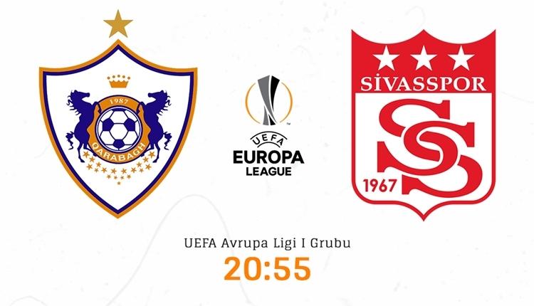 Karabağ Sivasspor canlı izle - Karabağ Sivasspor şifresiz İZLE (beIN SPORTS 1 canlı yayın)