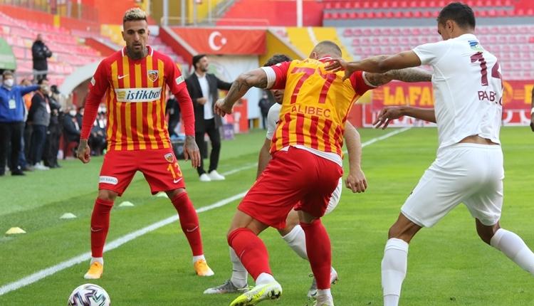 Kayserispor 0-1 Hatayspor maç özeti ve golü izle