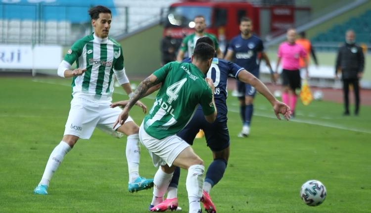 Konyaspor 2-1 Kasımpaşa maç özeti ve golleri izle