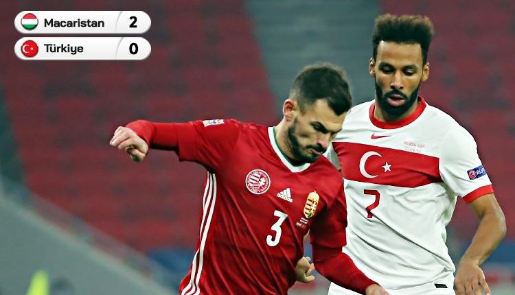 Küme düştük! Macaristan 2-0 Türkiye maç özeti (İZLE)