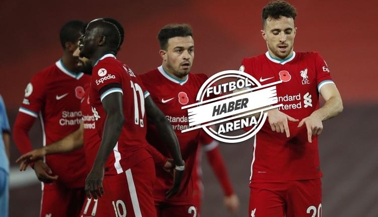 Liverpool yeniden lider! Premier Lig'de 7. haftanın ardından