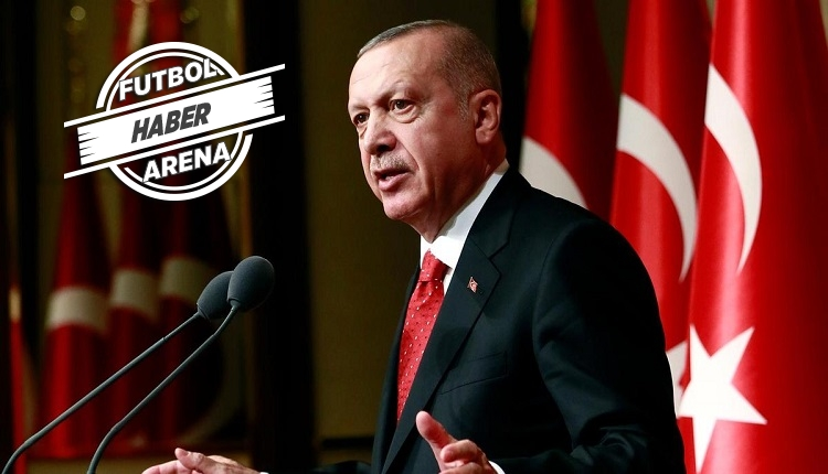 Maçlar seyircisiz! Cumhurbaşkanı Erdoğan açıkladı