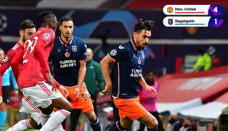 Manchester United 4-1 Başakşehir maç özeti ve golleri izle