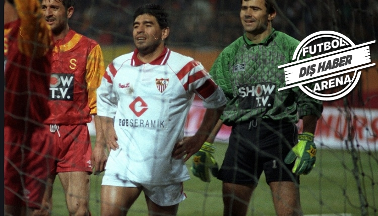 Maradona ve yıllar önceki Galatasaray maçı anısı