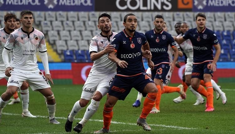 Medipol Başakşehir 2-1 Gençlerbirliği maç özeti ve golleri izle