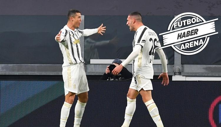 Merih Demiral'dan Cristiano Ronaldo'ya asist (İZLE)
