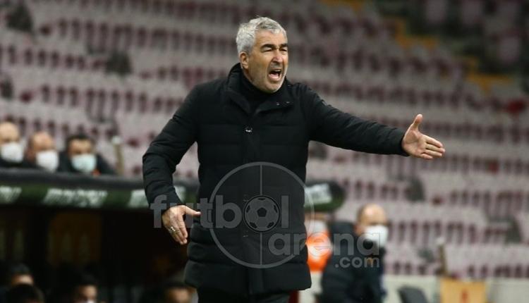 Samet Aybaba: 'Galatasaray'a çok net pozisyonlar verdik'