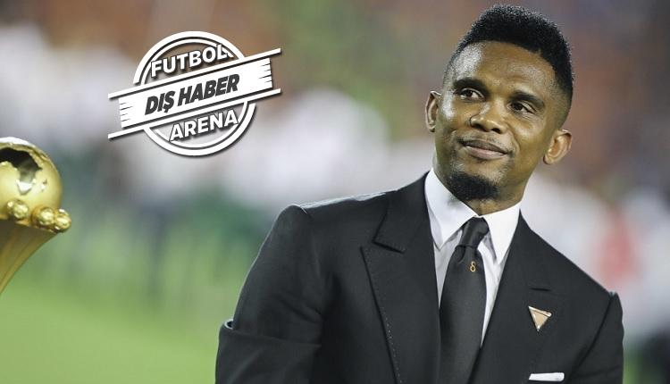 Samuel Eto'o futbola geri dönüyor! Transfer teklifi