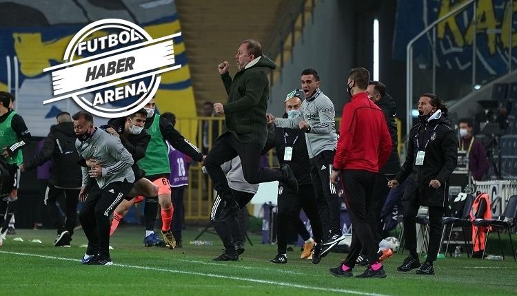Sergen Yalçın, Beşiktaş ile derbi kaybetmiyor! Kadıköy zaferi