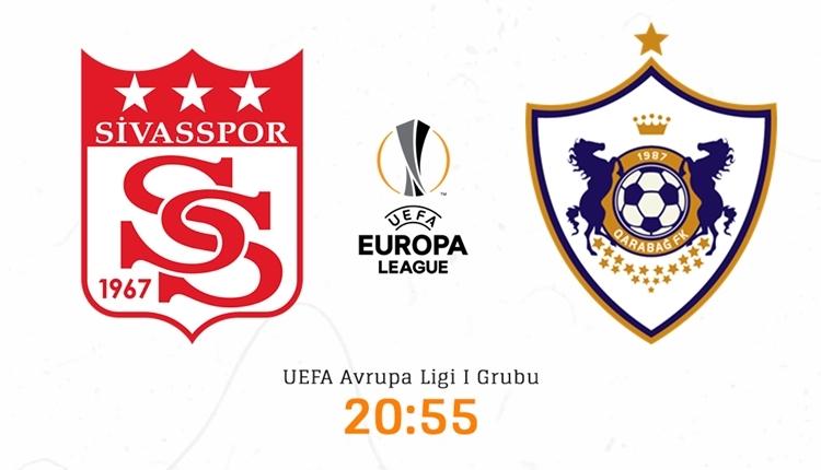Sivasspor Karabağ canlı izle - Sivasspor Karabağ şifresiz İZLE (Bein Sports 1 canlı yayın)