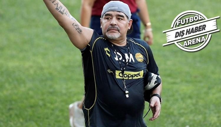 Flaş! Maradona'da beyin kanaması