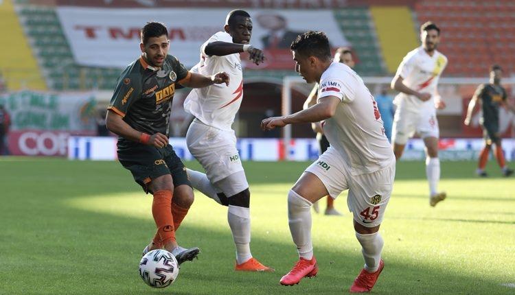 Alanyaspor 1-1 Yeni Malatyaspor maç özeti ve golleri (İZLE)