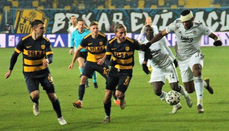 Ankaragücü'nden Beşiktaş maçı tepkisi!